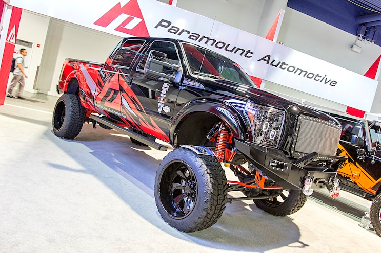 2016 Sema Show Hd Ford Trucks 4