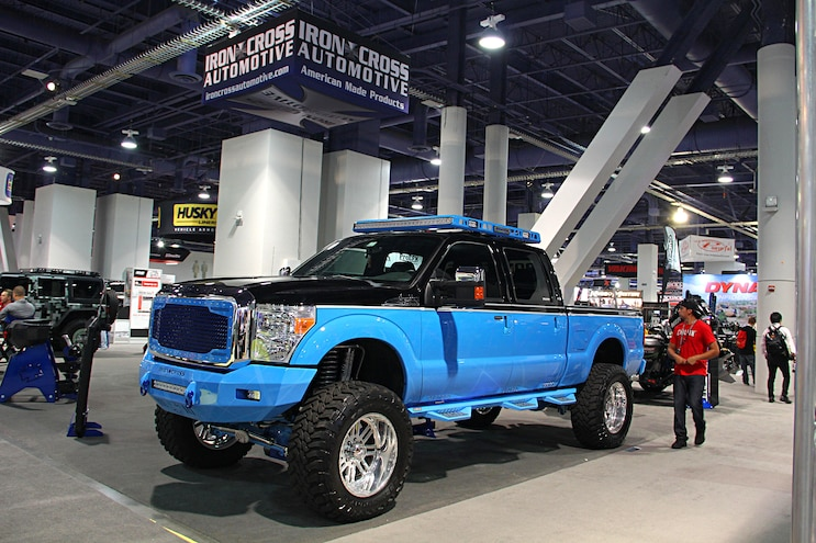 2016 Sema Show Hd Ford Trucks 21