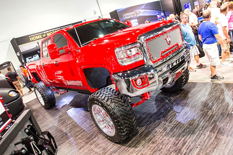 2016 Sema Show Hd Gm Trucks 38
