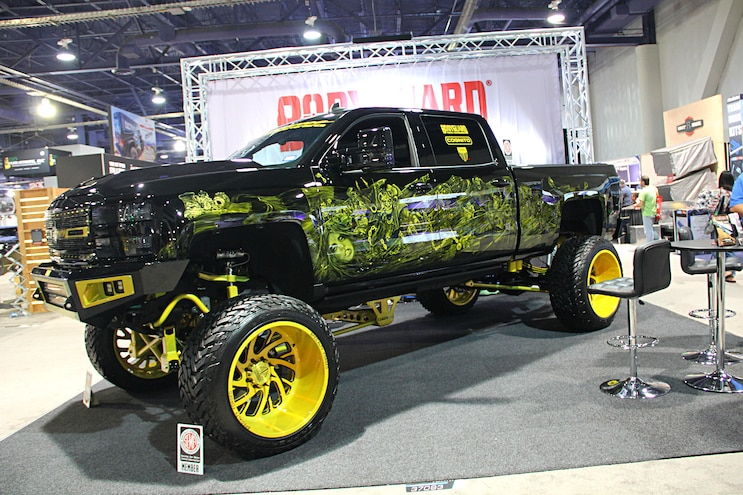 2016 Sema Show Hd Gm Trucks 50