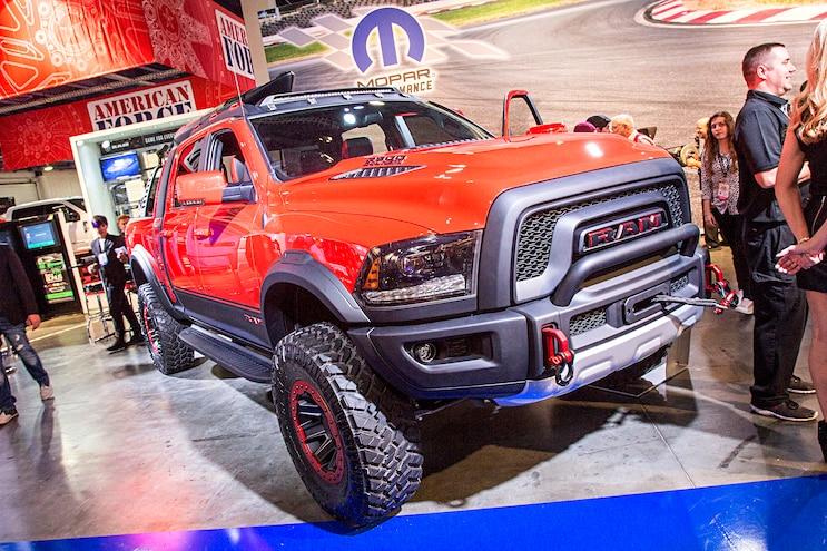 2016 Sema Show Hd Ram Trucks 52