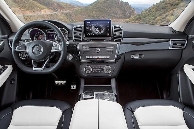 2017 Mercedes GLE Class Interior