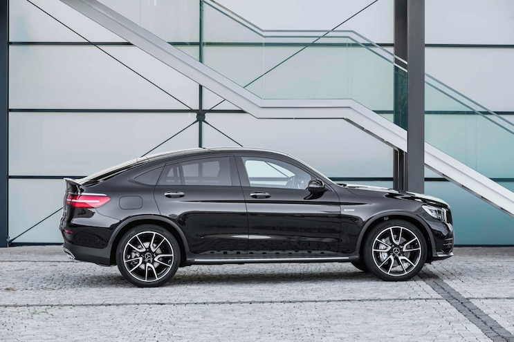 2017 Mercedes AMG GLC43 Coupe Side