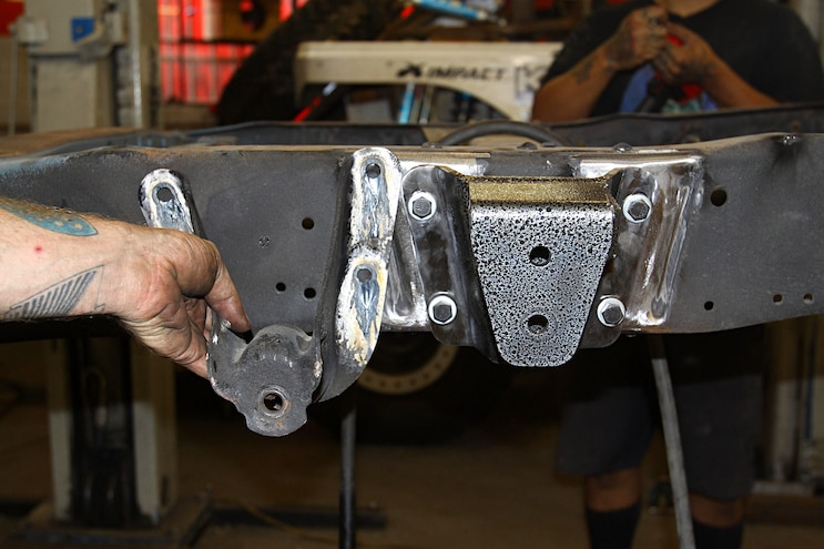 1967 Ford F 100 Project Speed Bump Chassis New Spring Hanger