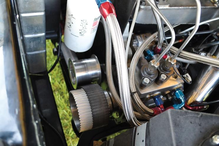 Single Cog Driven Fuel Pump