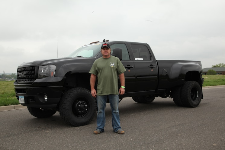 2011 Gmc Sierra Front Drivers Side With Owner Bill Whitters