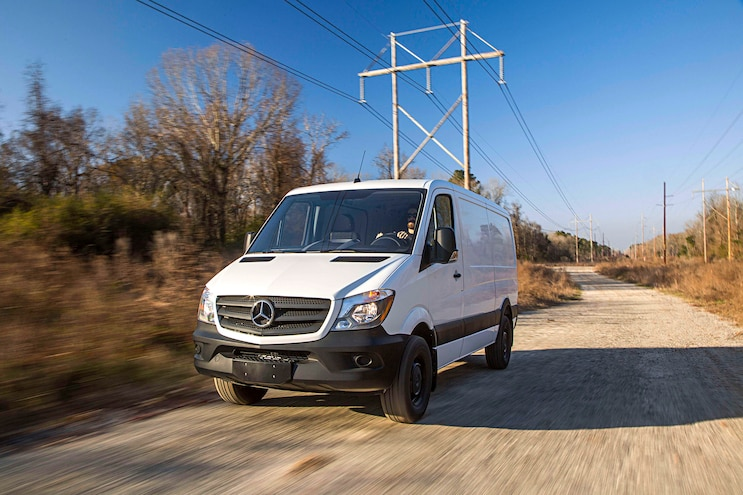 Auto News 8 Lug Work Truck Mercedes Benz Sprinter Van Electric