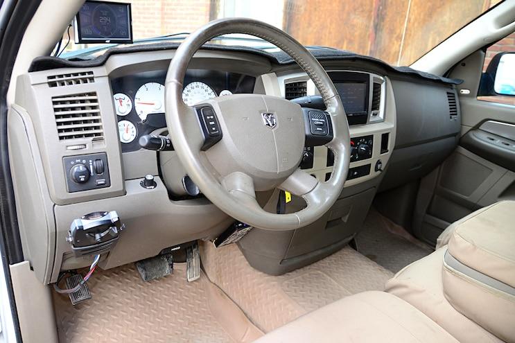 2007 Dodge Ram 2500 Steering Wheel