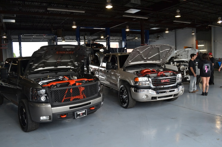 2015 Dyno Day Couple Of Hot Street Trucks