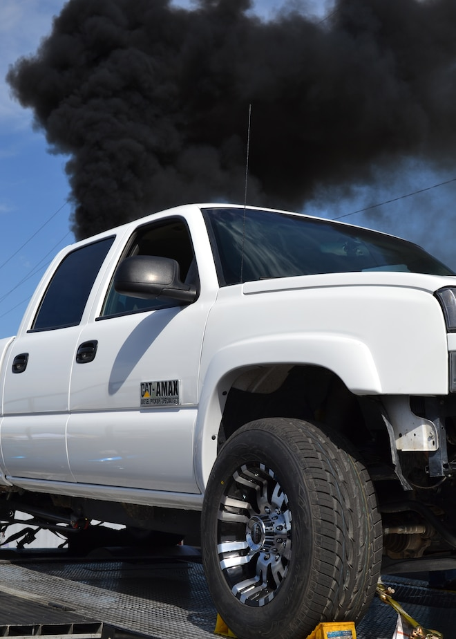 2015 Dyno Day Catamax Diesel Pickup Specialists Truck Exhaust Cloud
