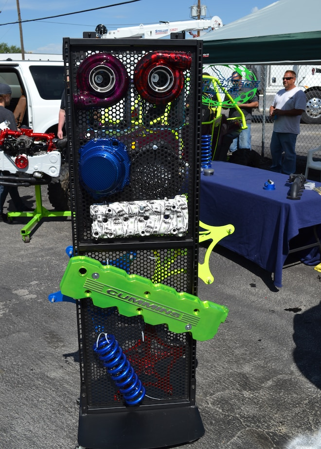 2015 Dyno Day Powder Extreme Coatings Booth Display