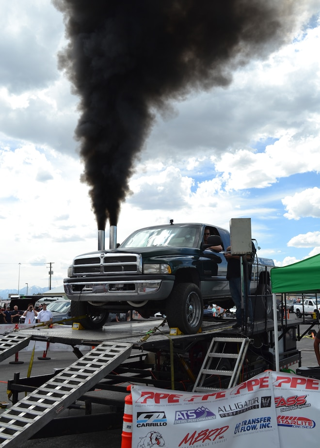 2015 Dyno Day Frankenstein Truck Exhaust Cloud Making 1379hp
