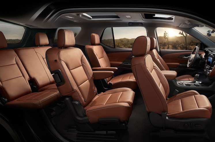 2018 Chevrolet Traverse Interior Side View