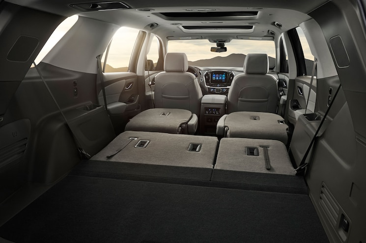 2018 Chevrolet Traverse Cargo Area
