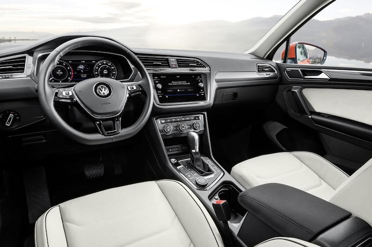 2018 Volkswagen Tiguan Us Spec Interior Cockpit