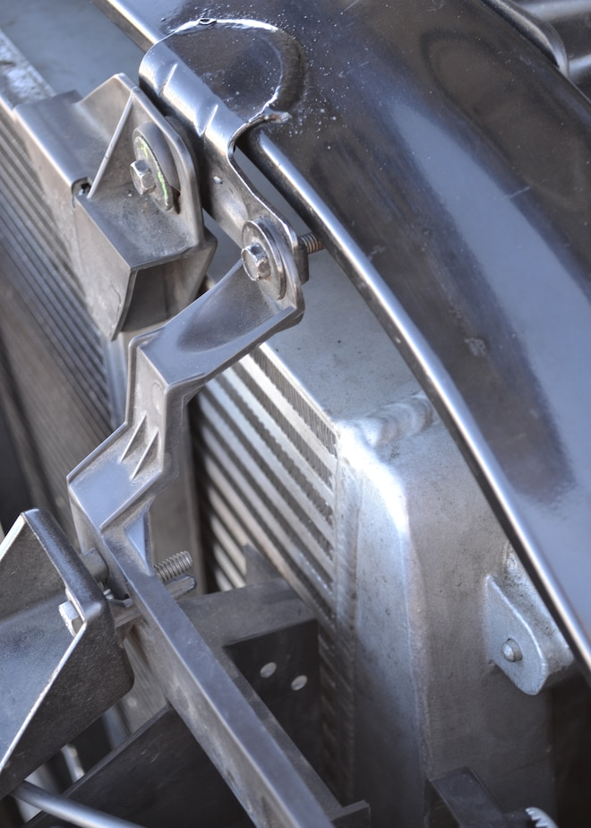 2002 Chevrolet Silverado 2500 Mishimoto Intercooler