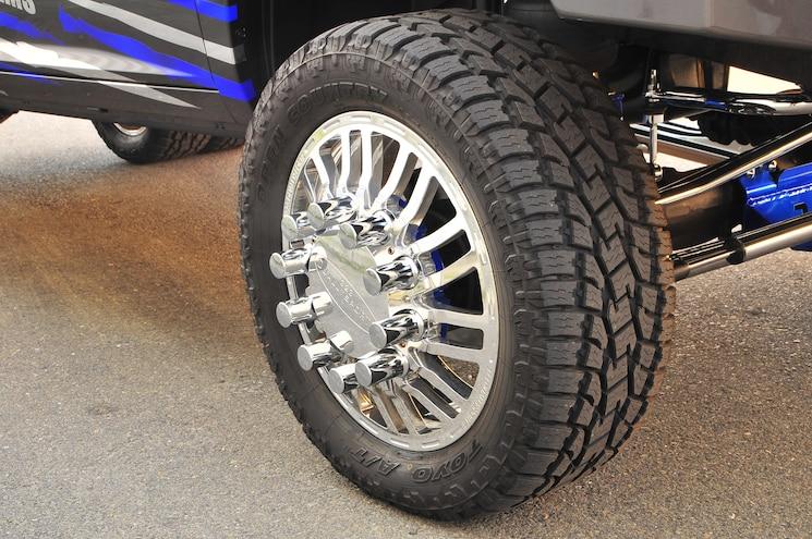 2014 Ram 3500 Sidewinder Wheels