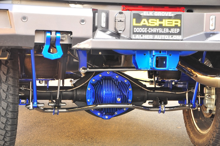 2014 Ram 3500 Powdercoated Differential Cover
