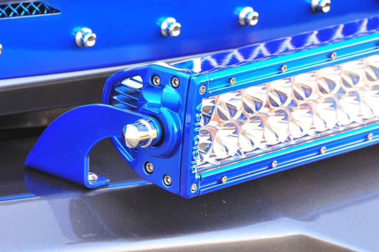 2014 Ram 3500 Rigid Industries 40 Inch Light Bar