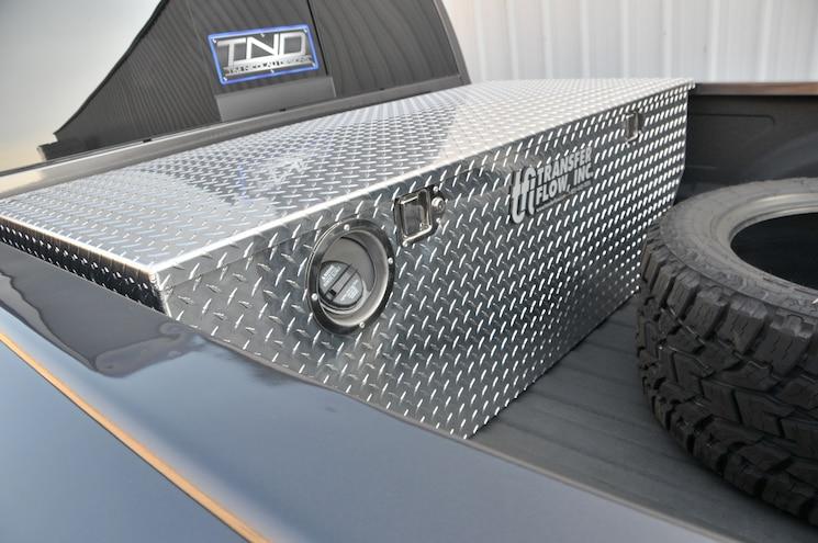 2014 Ram 3500 Transfer Flow 50 Gallon Auxiliary Tank