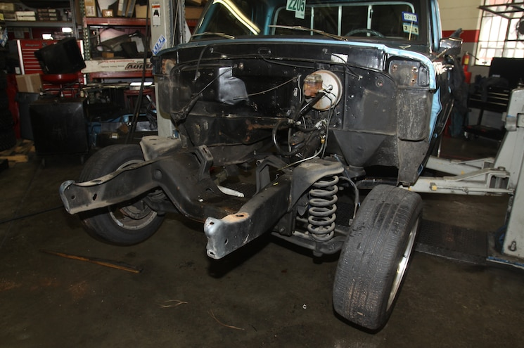 1967 Ford F 100 Front Clip Removed
