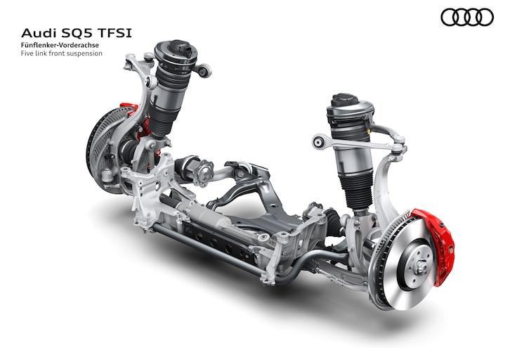 2018 Audi Sq5 Front Suspension Detail