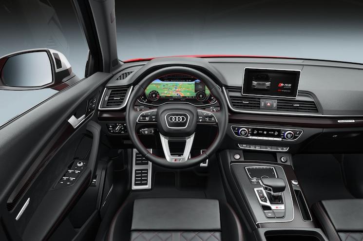 2018 Audi Sq5 Interior Driver Side View
