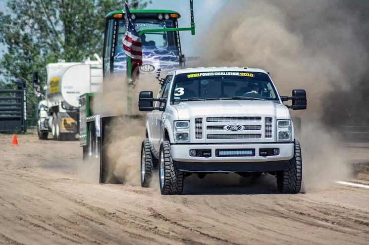 Sled Pulls: Diesel Power Challenge 2016