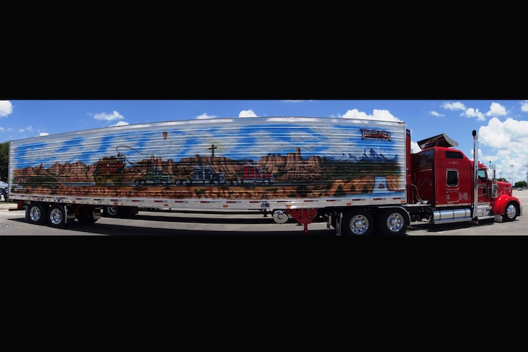 Super Rigs Mural Side