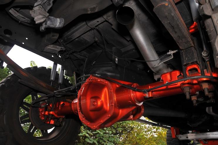 2008 Chevrolet Silverado 3500hd Duramax Rear Axle