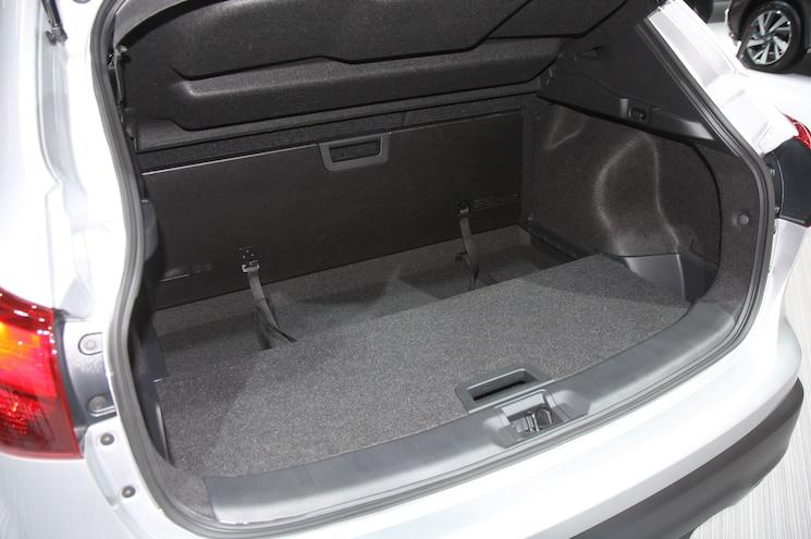 2018 Nissan Rogue Sport Interior Cargo Area