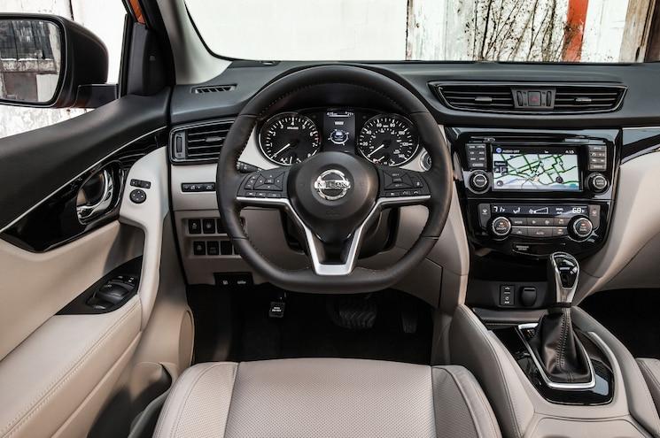 2018 Nissan Rogue Sport Interior Steering Wheel