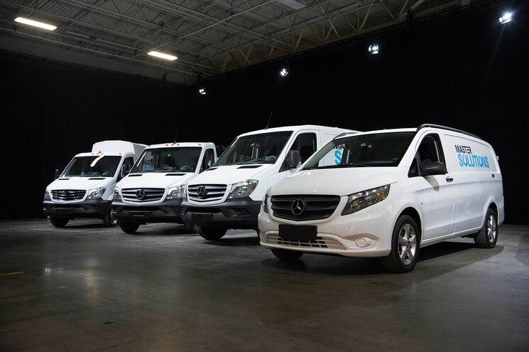 Mercedes Benz Van Mastersolutions