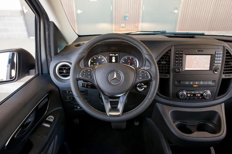 Mercedes Benz Van Metris Interior