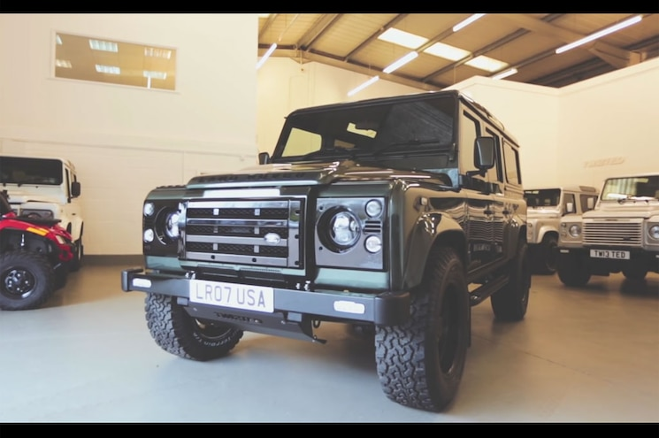 Video: British Body, American Heart — Twisted LS3-powered Defenders