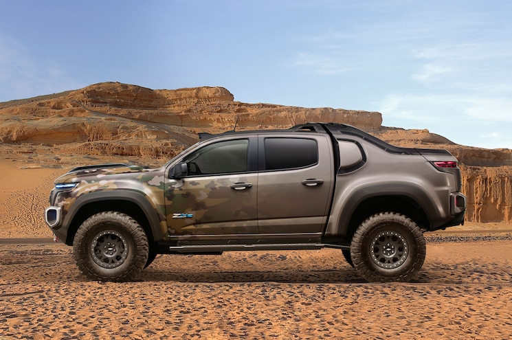Chevrolet Colorado Zh2 Fuel Cell Exterior Side View