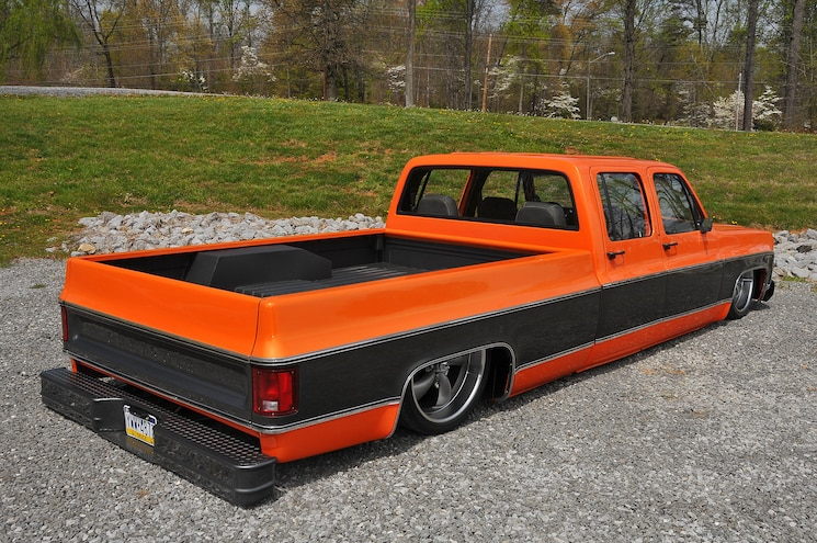 1976 Chevy C30 Pickup Truck Rear