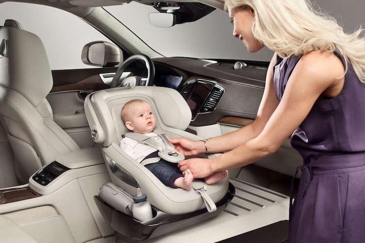 001 2016 Volvo Xc90 Excellence Child Seat Concept Buckling Up