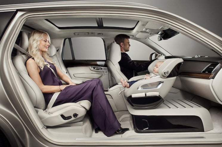 Volvo XC90 Excellence Concept Brings Child Seat to Forefront