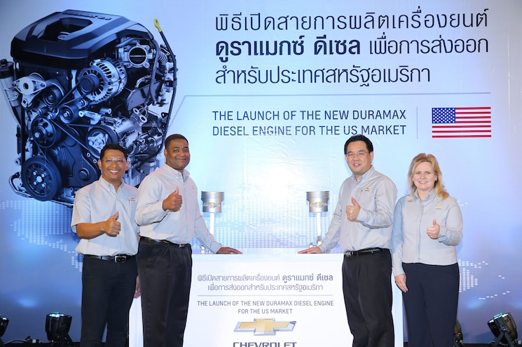 General Motors Thailand Starts Production of U.S.-Bound 2.8L Duramax