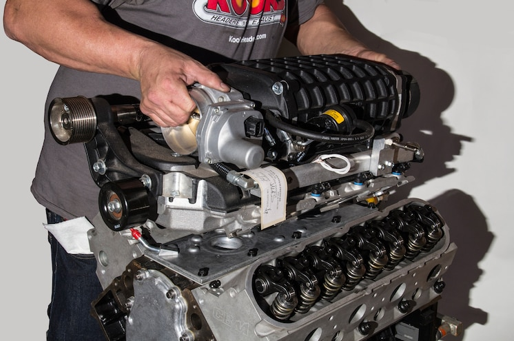 2003 Chevrolet Avalanche Supercharged Engine Build