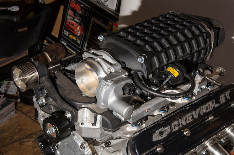 2003 Chevrolet Avalanche 408 Lsx Engine With Magnuson Supercharger