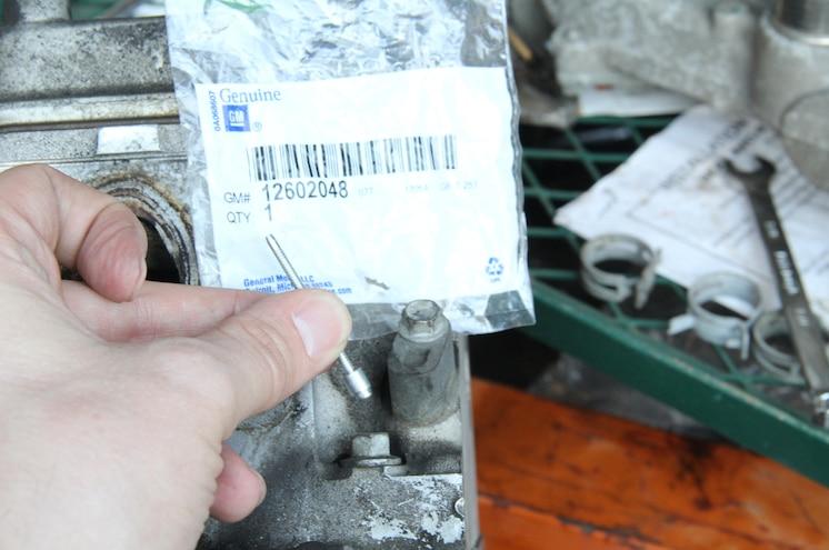 2003 Chevrolet Avalanche 408 Lsx Engine Rivet Coolant Plugs