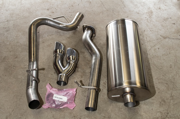 Corsa Performance Stainless Steel Exhaust System