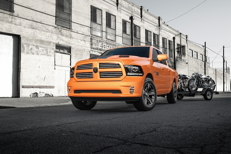 Auto News Work Truck 2017 Ram Truck Limited Edition Ignition Orange Sport