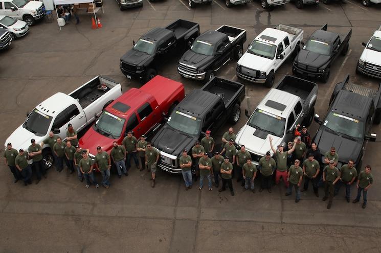 Dpc2015 Diesel Competitors Group Photo