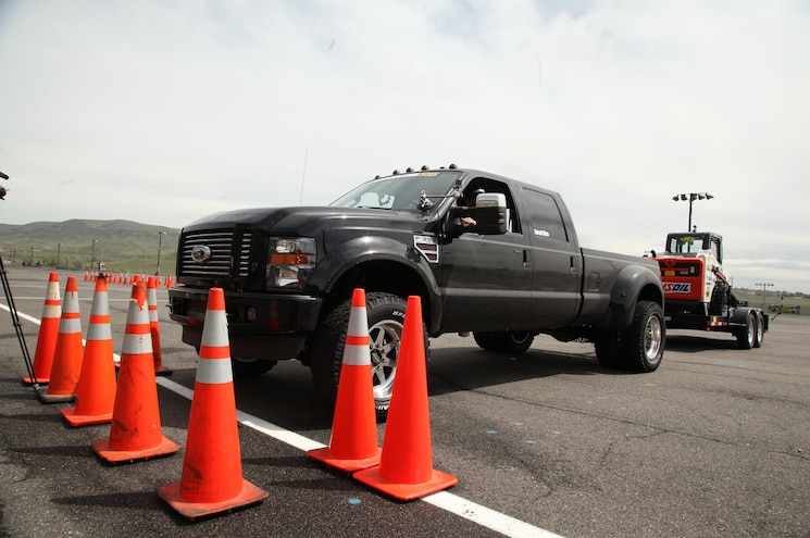 Dpc2015 2010 Ford F350 Diesel Trailer Obstacle Course Jared Rice