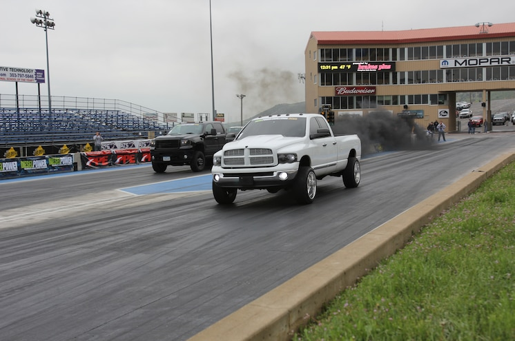 Dpc2015 Diesel Drag Race Bill Whitters Vs Lavon Miller