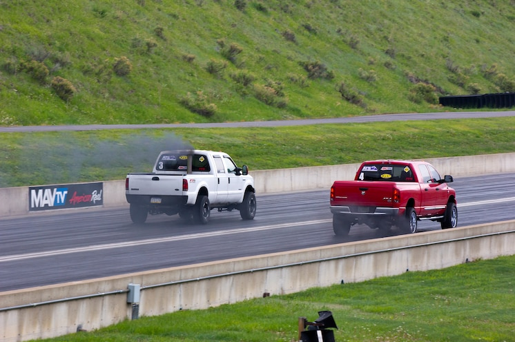 Dpc2015 Diesel Drag Race Jerry Adkins Vs Jesse Warren