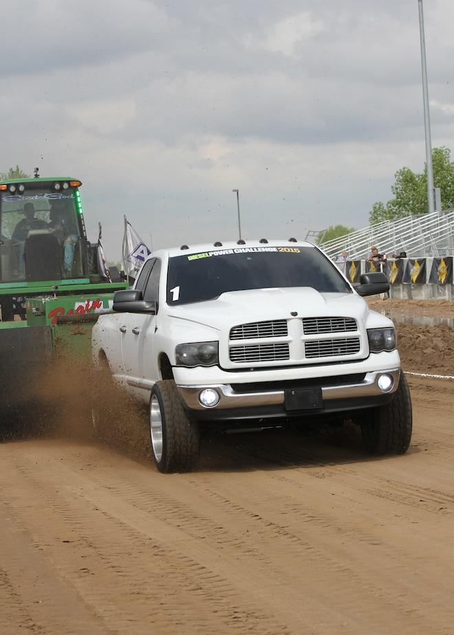 Dpc2015 2004 Dodge Ram 3500 Diesel 302 Foot Sled Pull Lavon Miller